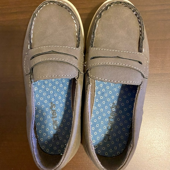 Carter's Toddler Gray Penny loafers. Toddler 11
